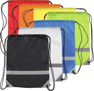 Knockholt Reflective Drawstring Branded Bags