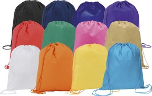 Rainham Environmentally Friendly Drawstring Branded Bags
