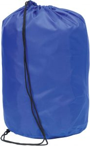 Chainhurst Blue promotional drawstring bag
