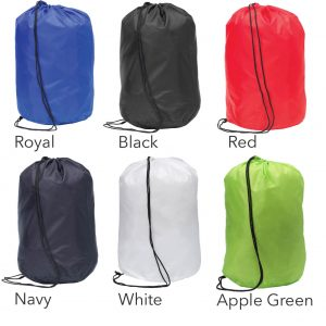 Colours Available for Chainhurst Custom Drawstring Bag