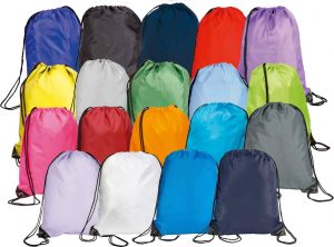 Colours available for Eynsford Promotional Drawstring Bag from The Promobag Warehouse
