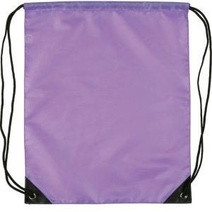 Eynsford Promotional drawstring Bag from The promobag Warehouse (non reflective drawstring branded bags)