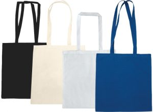 Colours Available for Somerhill 140gsm Cotton Custom Tote Bags from The Promobag Warehouse.