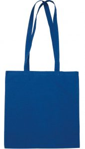 Somerhill 140gsm Cotton Custom Tote Bags Blue from The Promobag Warehouse