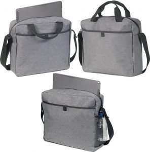 Features on the Tunstall Stylish Business Branded Bags available from The Promobag Warehouse