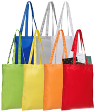 Company Branded Promotional Tote Bags from The Promobag Warehouse