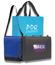 Branded Conference Bags Promotional Trade Show Bags part of the range of company branded bags from The Notebook Warehouse