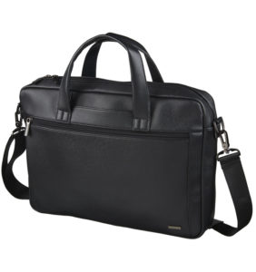 Luxe Single Computer Branded Briefcase Bags