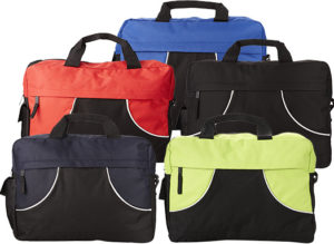 Colours available for the Chicago Branded Conference Bags from the Promobag Warehouse