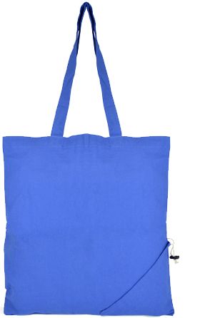 Image Showing Product shot of Coloured Foldable Branded Tote Bags from The Promobag Warehouse