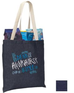 Image showing Hawkhurst Denim Company Branded Tote Bags from The Promobag Warehouse
