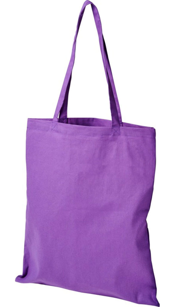 Product image of Madras Company Branded Tote Bags in Purple from The Promobag Warehouse