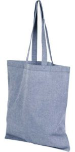 Product image of Heather Blue Pheebs Branded Recycled Tote Bags from The Promobag Warehouse