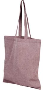 Product image of Heather Maroon Pheebs Branded Recycled Tote Bags from The Promobag Warehouse