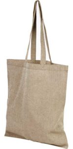 Product image of Heather Natural Pheebs Branded Recycled Tote Bags from The Promobag Warehouse