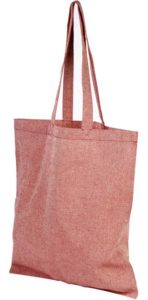 Product image of Heather Red Pheebs Branded Recycled Tote Bags from The Promobag Warehouse