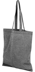 Product image of Heather Smoke Pheebs Branded Recycled Tote Bags from The Promobag Warehouse